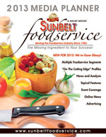 2013 Sunbelt Foodservice Media Guide