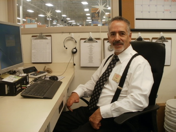 Steve Martinez at desk