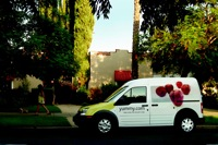 Business at Yummy.com keeps a fleet of delivery vans in motion.