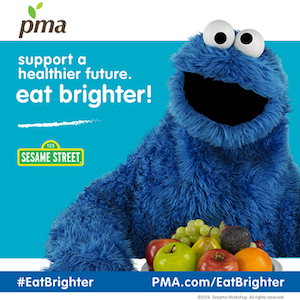 Produce-Eat Brighter Cookie Monster