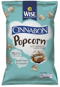 Wise partnered with another Atlanta-based company, Focus Brands, to launch Wise Cinnabon Popcorn in December.