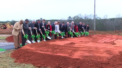 Publix broke ground on a new store in Troy in December. (Photo: WSFA 12 News)