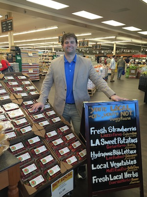 Donny Rouse, managing partner, inside the grocer's newest store in Kenner, Louisiana.
