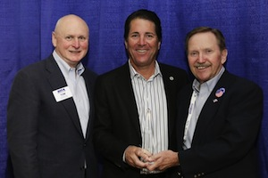 Tom Wenning, NGA (retired); Chris Coborn, Coborn's; and Trig Solberg, T.A. Solberg and Co.