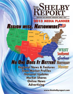 2013 Shelby Report Media Planner