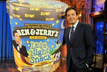 Jimmy Fallon and Ben & Jerry's Announce New Ice Cream Flavor: Late Night Snack
