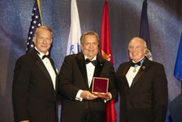 Jack H. Brown Receives 'Patriot Award'