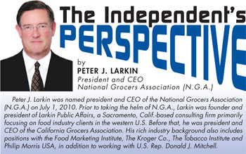 Peter Larkin Shelby Report Independent Grocers