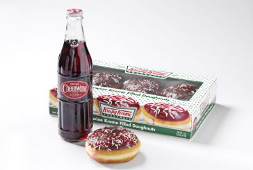 Cheerwine Kreme Filled Doughnuts Now Available