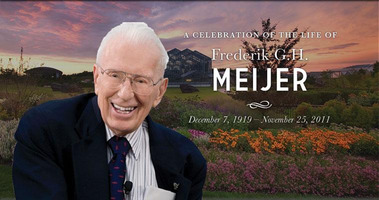 2011 : Fred Meijer Dies