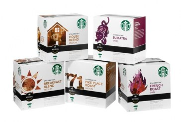 Starbucks Ships 100 Million K-Cup Packs in Two Months