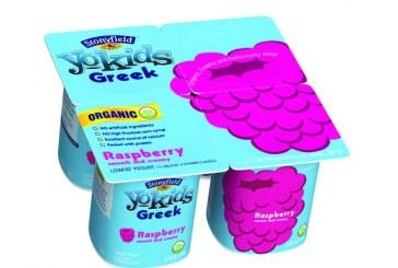 Stonyfield Launches YoKids Greek