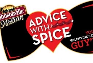 Valentine's 'Spice' Advice from Johnsonville Italian Sausage