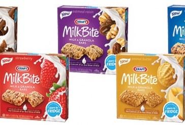 Kraft Introduces Milkbite Bars