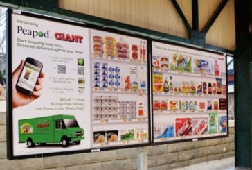 Peapod By Giant Lets Philly Residents Shop While Commuting