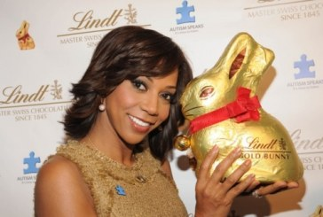 Lindt Partners With Holly Robinson Peete For Gold Bunny Auction
