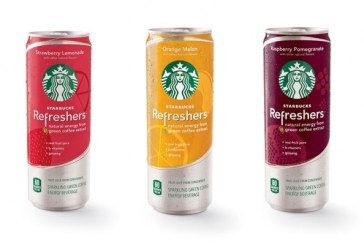 Starbucks Enters Energy Category With 'Refreshers' Beverages