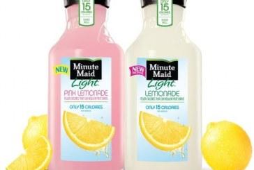 Minute Maid Has New Bottle, Debuts Pink Lemonade