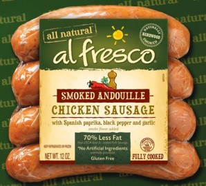 Al Fresco Smoked Andouille Chicken Sausage