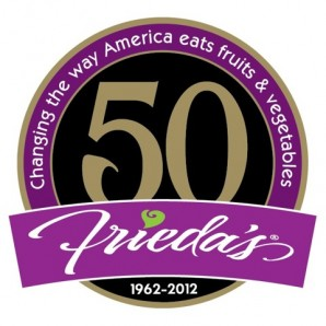Frieda's 50th anniversary logo