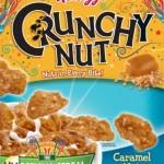 Kellogg's Debuts Crunchy Nut Caramel Nut Cereal