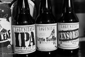 Lagunitas bottles