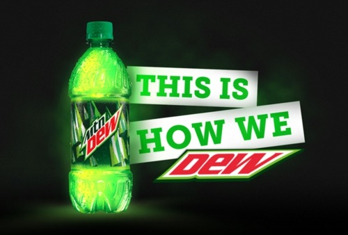 PepsiCo 'This Is How We DEW' campaign