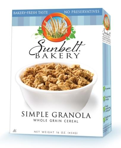 SUNBELT BAKERY SIMPLE GRANOLA | Shelby Report