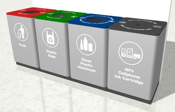 Target Recycle Bins