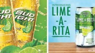 Bud Light Lime and its Lime-A-Rita