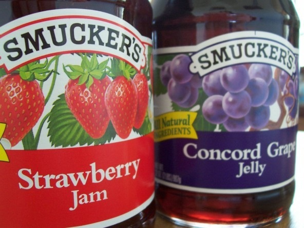 Smucker's jelly and jam