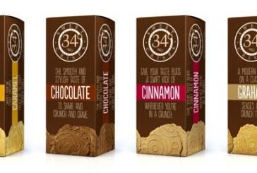 34 Degrees New Sweet Crisps Hit Stores Nationally