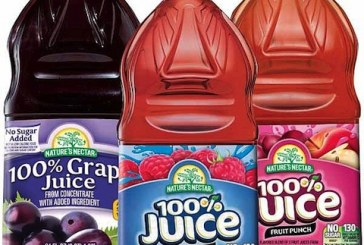 Self Magazine Chooses Aldi's Nature's Nectar Juice
