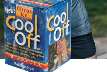 Cool Off Helps Beat The Heat With New Towelette Product