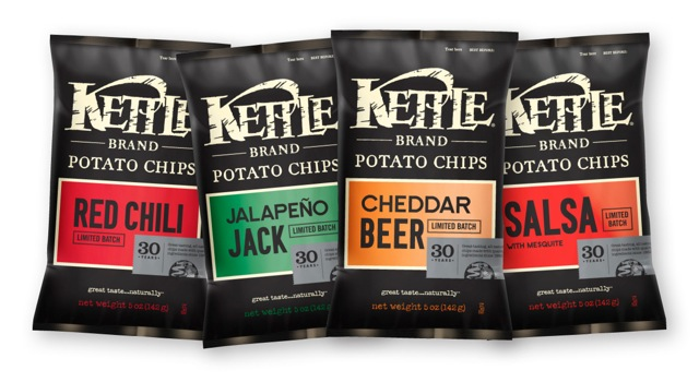 Kettle Brand Celebrates 30 Years With Returning Favorites