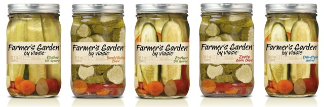 Vlasic introducing expanded line of farmer s garden pickles shelby report for Vlasic farmer s garden pickles