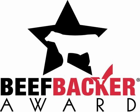 Beef Backer Award logo