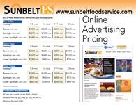 2013 Sunbelt Online Advertising