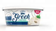 Greek cream cheese