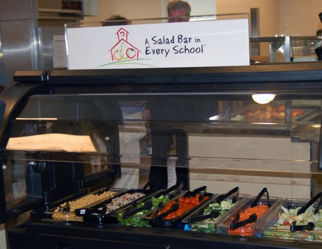Whold Foods Market salad bars