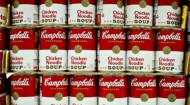 Campbell Soup Co. soup cans