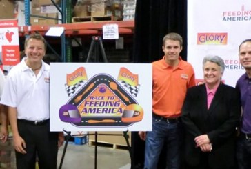 Glory Foods' Race To Feeding America Campaign Features NASCAR Drivers