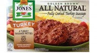 Jones Dairy Farm's turkey patty, 5 oz.