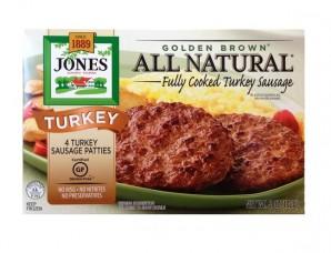 Jones Dairy Farm's turkey patty, 5 oz.