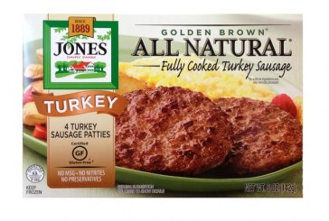 Jones Dairy Farm Rolls Out All Natural Turkey Sausage Patties