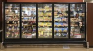 frozen foods case