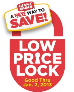 Giant Eagle's Price Lock logo