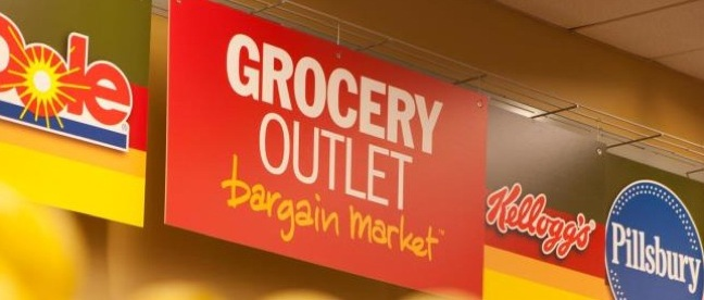 Grocery Outlet sign