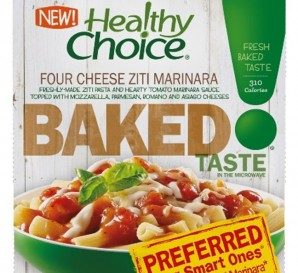 ConAgra Foods' Healthy Choice Baked Entrees