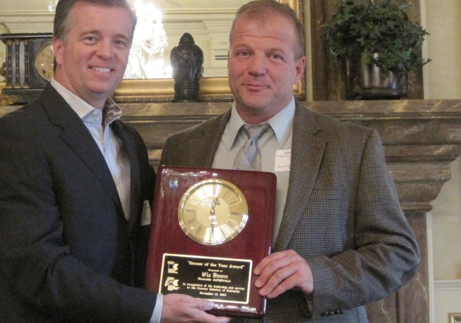 Vic Dawn Honored As 2012 Kentucky Grocer Of The Year
